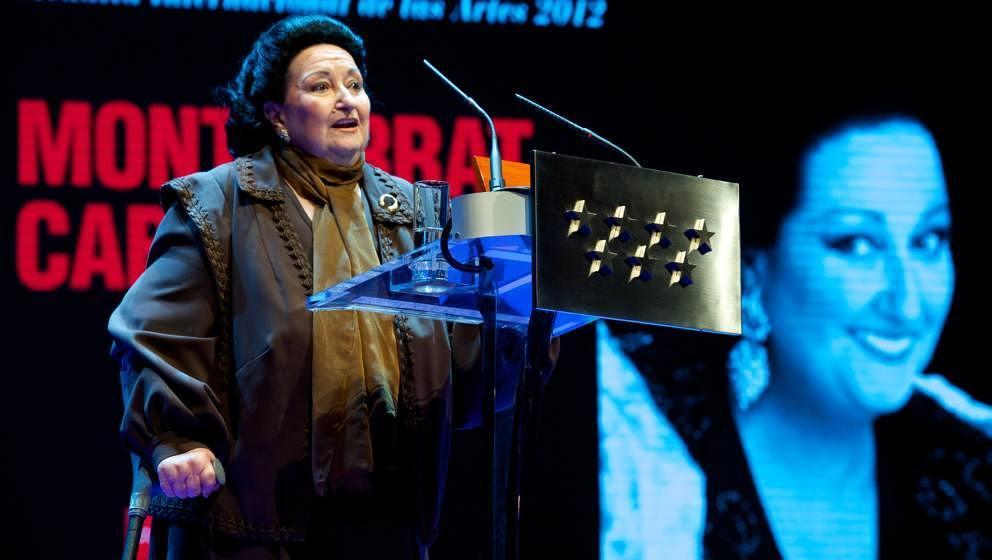 Die spanische Opernsängerin Montserrat Caballé starb am 6. Oktober 2018 mit 85 Jahren in Barcelona an den Folgen einer Gallenblaseninfektion.