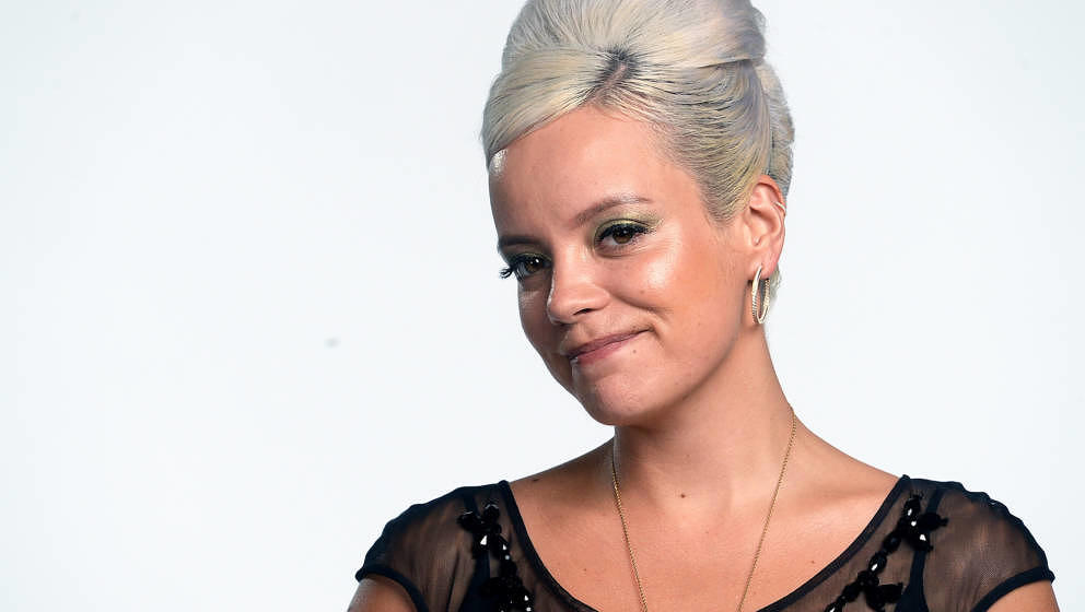 "Lily Allen beim ""Hyundai Mercury Prize 2018"" am 20. September 2018 in London, England."