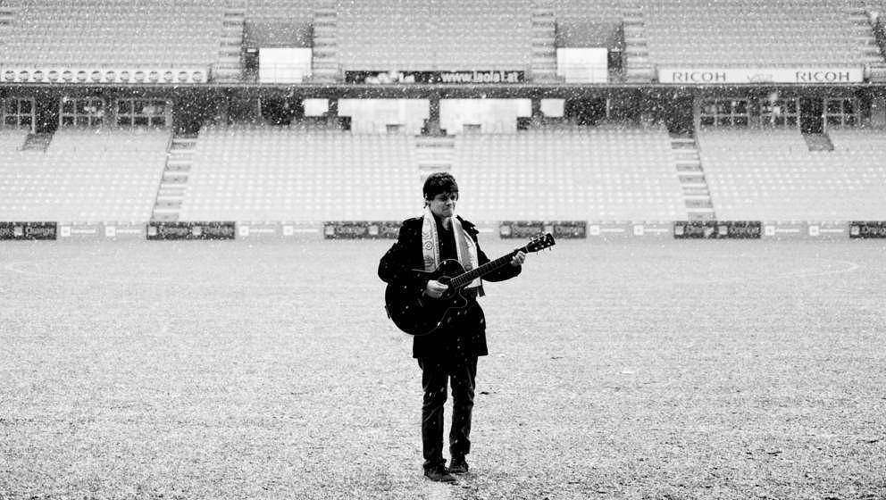 Der Nino aus Wien im Stadion
