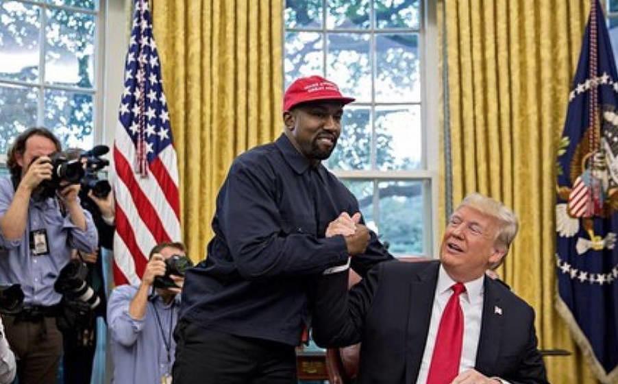 Ziemlich beste Freunde: Kanye West und Donald Trump