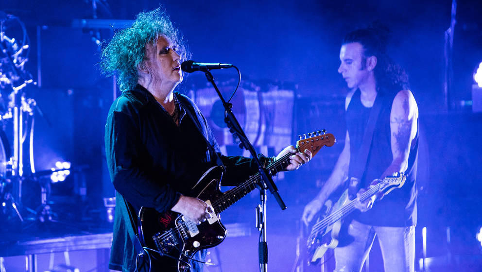 LONDON, ENGLAND - JUNE 24:  Robert Smith of The Cure performs at Robert Smith's Meltdown at The Royal Festival Hall on June 2