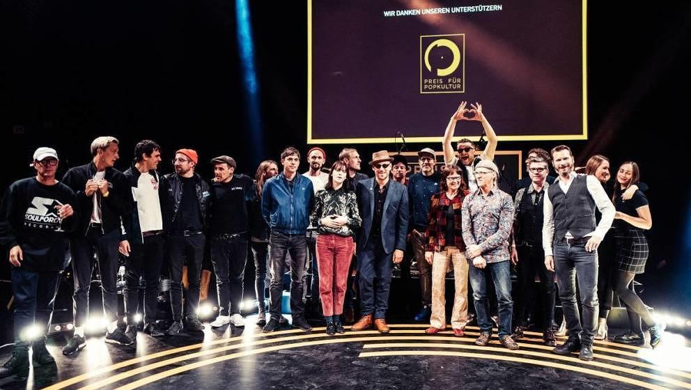 Die Gewinner des Preis für Popkultur 2018