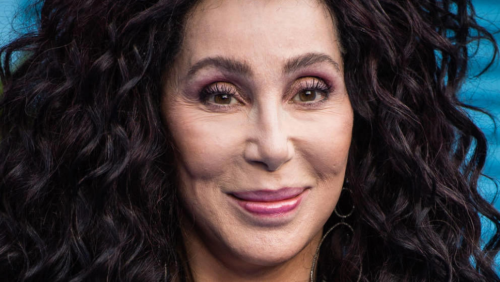 LONDON, ENGLAND - JULY 16:  Cher attends the UK Premiere of 'Mamma Mia! Here We Go Again' at Eventim Apollo on July 16, 2018