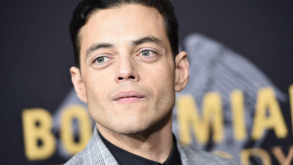 NEW YORK, NY - OCTOBER 30:  Rami Malek attends 'Bohemian Rhapsody' New York Premiere at The Paris Theatre on October 30, 2018