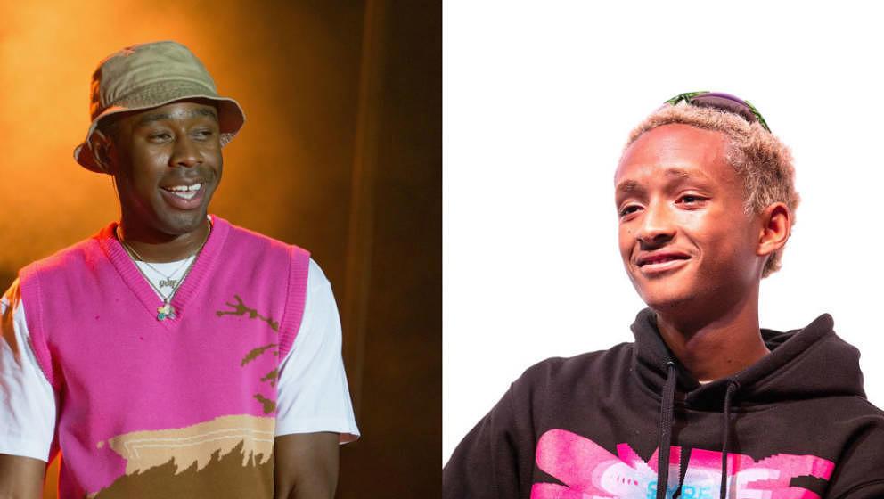 Hat der HipHop ein neues Traumpaar? Jaden Smith sagt: Ja. Tyler, The Creator schweigt.