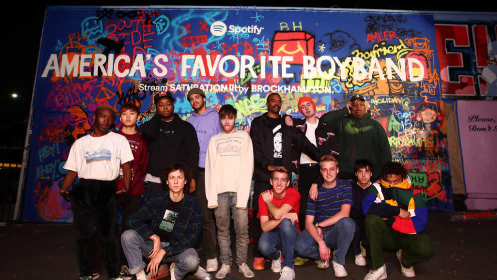 """Brockhampton halten sich selbst für """"America's Favorite Boyband"""""""