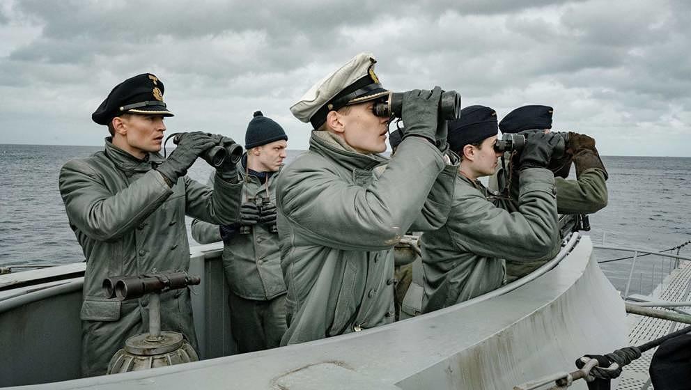 Die Besatzung der U-612.
