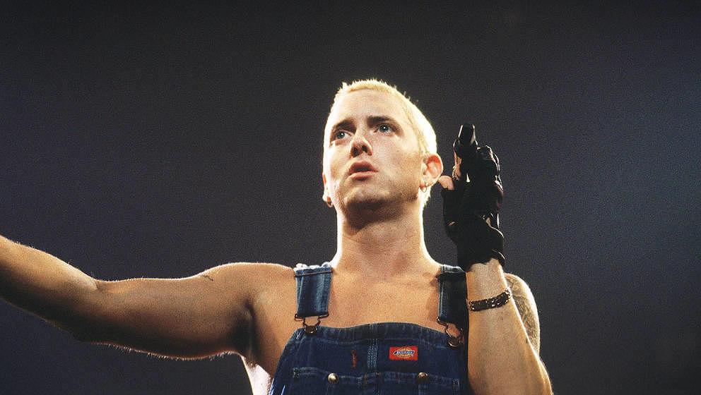 Eminem stellte den Eindringling selbst