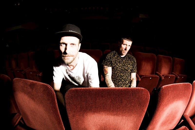 Andrew Fearn (l.) und Jason Williamson (r.) sind Sleaford Mods