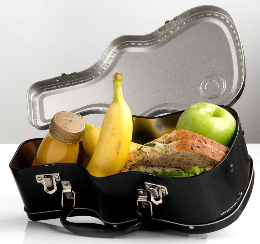 Lunchbox in Gitarrenoptik