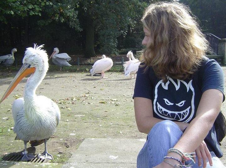 Mag schräge Vögel: Judith Legde