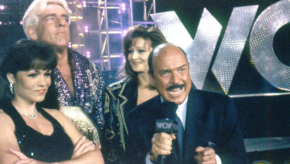 Der legendäre Wrestling-Moderator Gene Okerlund (hier 1998) starb am 2. Januar 2019 mit 76 Jahren in Florida.