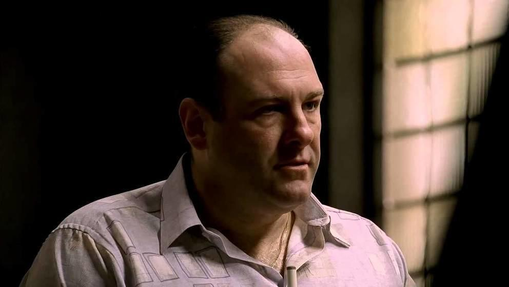 James Gandolfini als Tony Soprano.