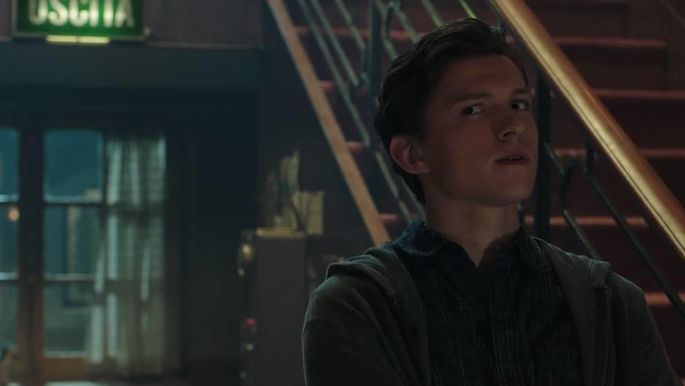 Tom Holland als  Spider-Man.