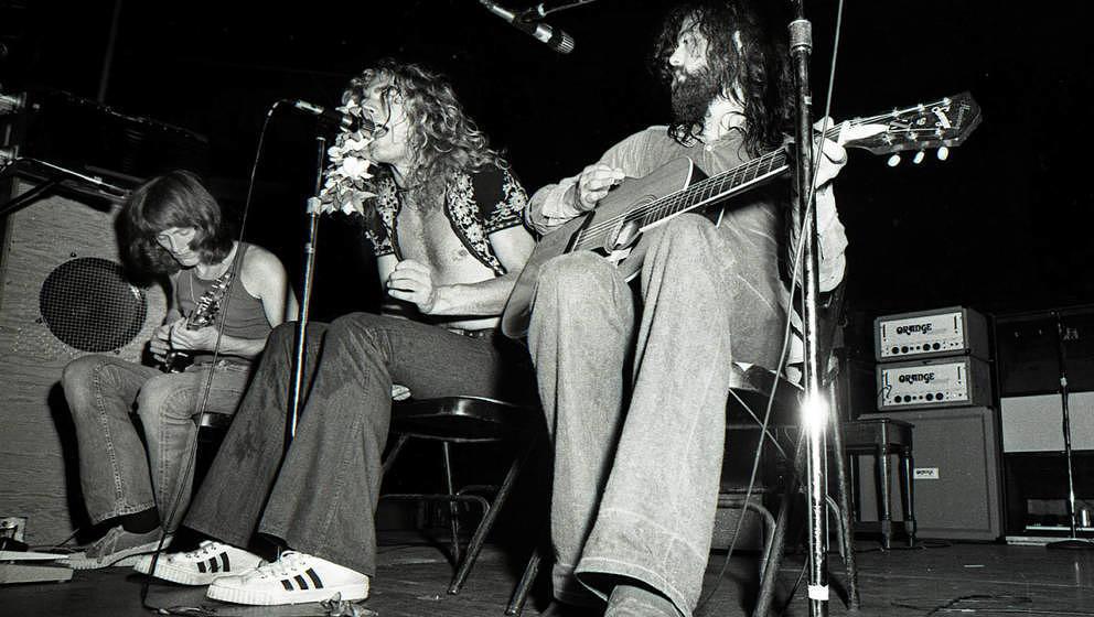 Eine Band wie Led Zeppelin werdet Ihr wohl nicht gleich auf der Bühne stehen (oder sitzen) haben.