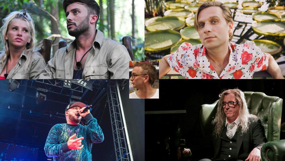 Ein paar der heutigen Themen in Linus Volkmanns neuer Popkolumnen-Folge: Dschungelcamp, Kool Savas, Jens Friebe und Tool (hier Sänger Maynard James Keenan).