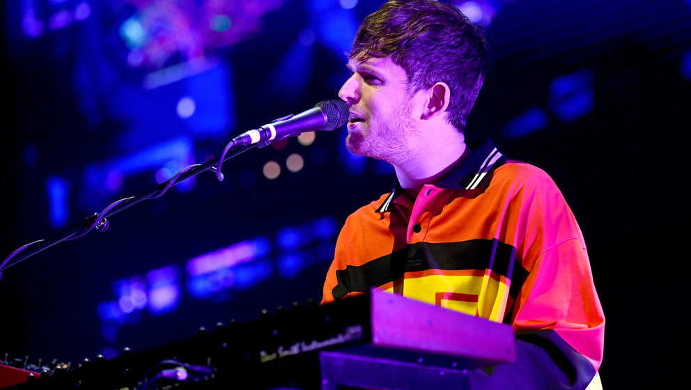 "Guter Mann mit neuem Album: James Blake, hier beim ""Music Tastes Good""-Festival am 30. September 2018 in Long Beach, Kalifornien"