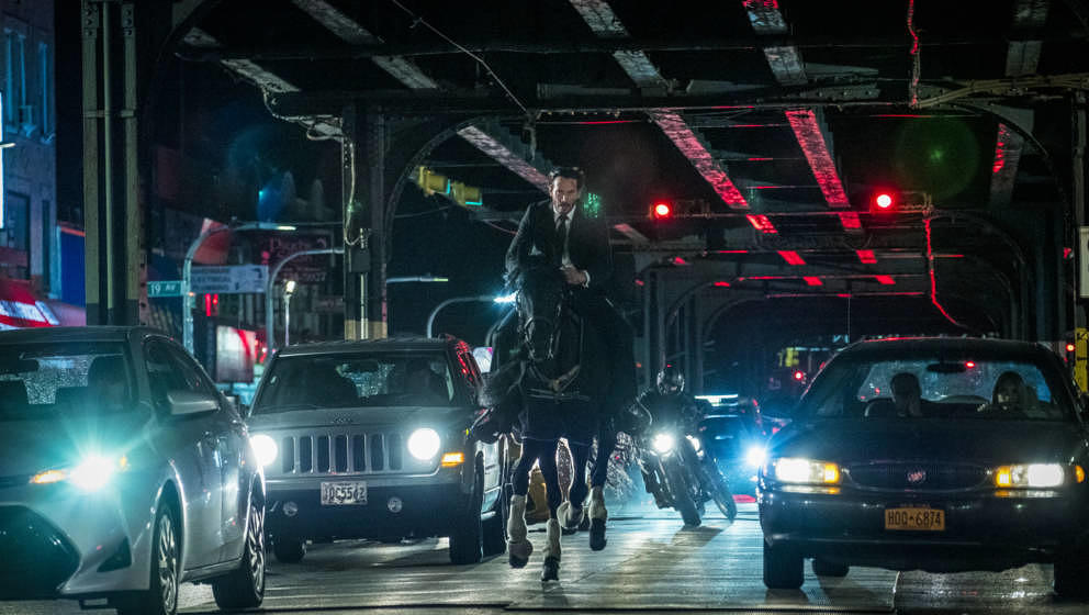"Keanu Reeves in ""John Wick: Kapitel 3"""