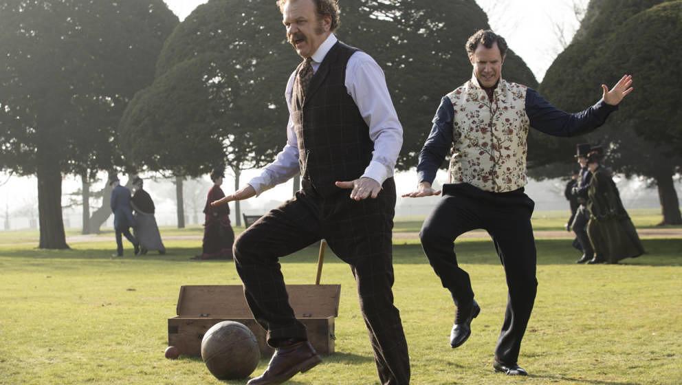 """Szene aus """"Holmes & Watson"""". Der Film startet am 7. Februar in Deutschland."""