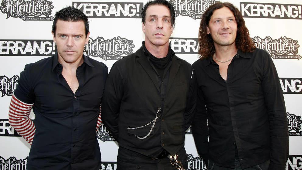 Rammstein bei den Kerrang! Awards im Juli 2010