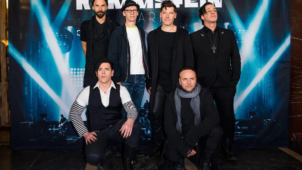 Rammstein 2017 in Berlin