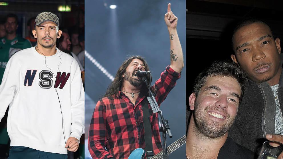 Capital Bra und Dave Grohl mag offenbar fast jeder. Über die Typen rechts im Bild lacht seit ein paar Tagen die halbe Welt.