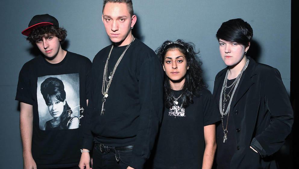 The xx, 2009, noch als Quartett