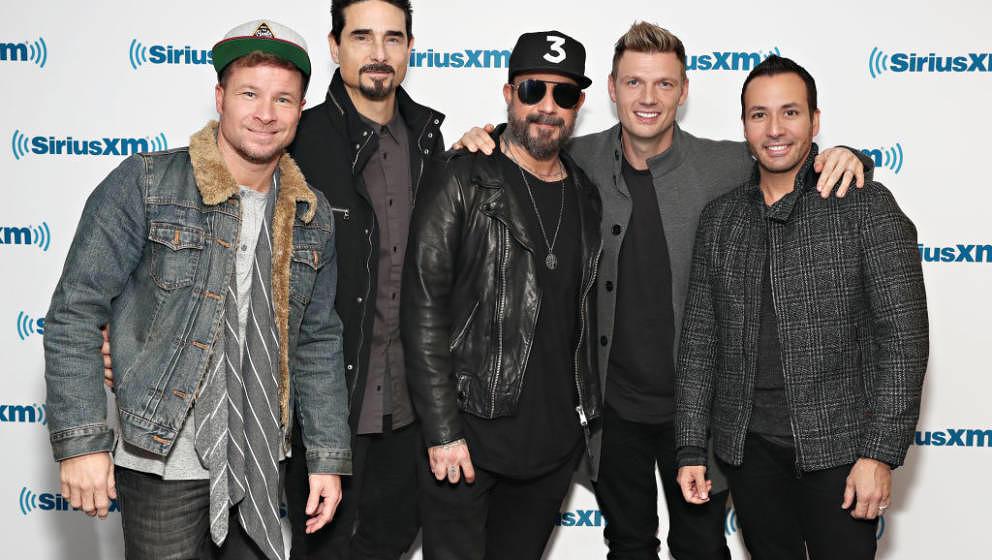 Die Backstreet Boys in New York im Januar 2019