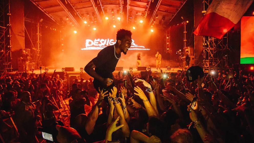 Rapper Desiigner beim Sziget Festival 2018