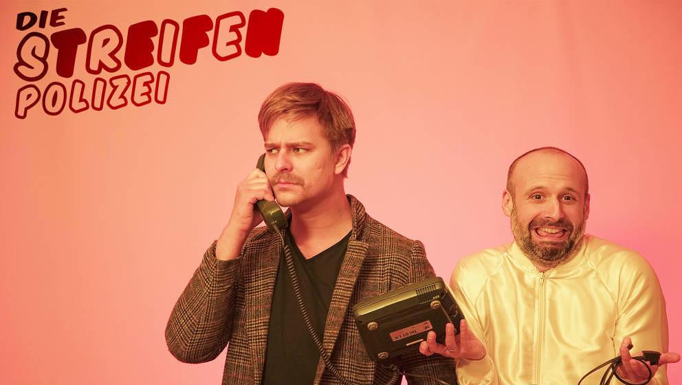 Daniel Krüger (l.) und Sassan Niasseri verleihen die Oscars.