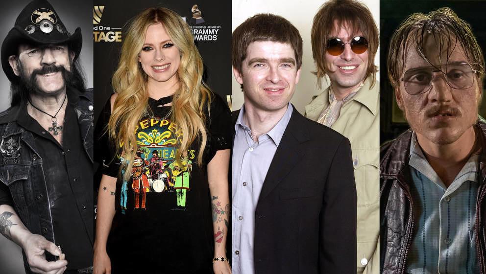 Lemmy, Avril, Noel, Liam und Jonas als Fritz – versammelt in Linus' neuer Popkolumne