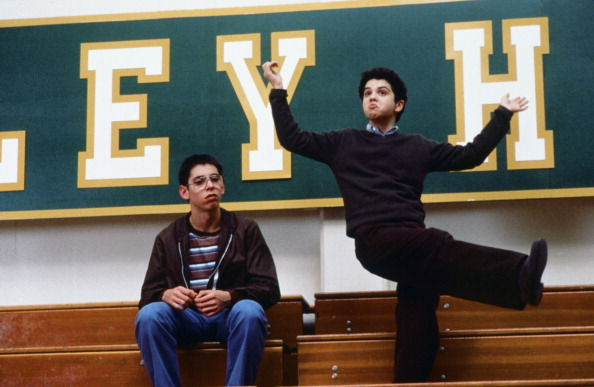 FREAKS AND GEEKS -- 'We've Got Spirit' -- Episode 9 -- Pictured: (l-r) Martin Starr as Bill Haverchuck and Samm Levine as Nea