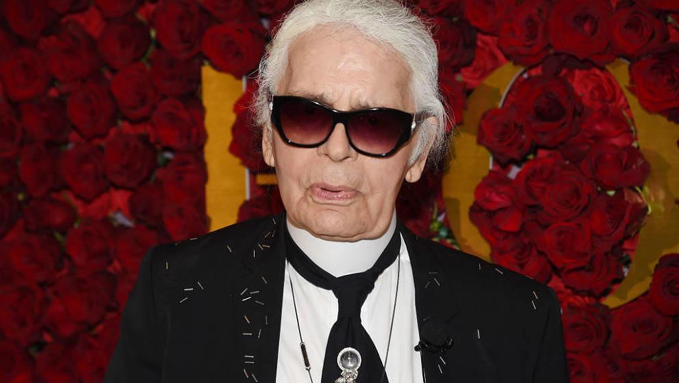 Modedesigner Karl Lagerfeld starb am 19. Februar 2019 mit 85 Jahren in Paris.