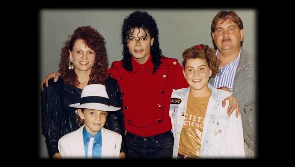 Michael Jackson auf dem Familienfoto eines seiner mutmaßlichen Opfer.