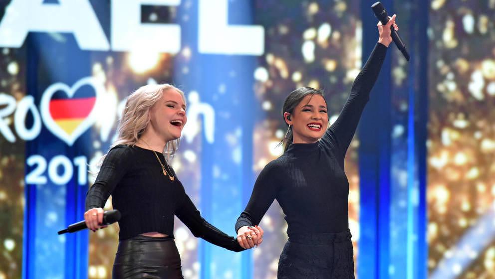 Treten für Deutschland beim ESC 2019 an: Carlotta und Laurita, die eigentlich Laura heißt