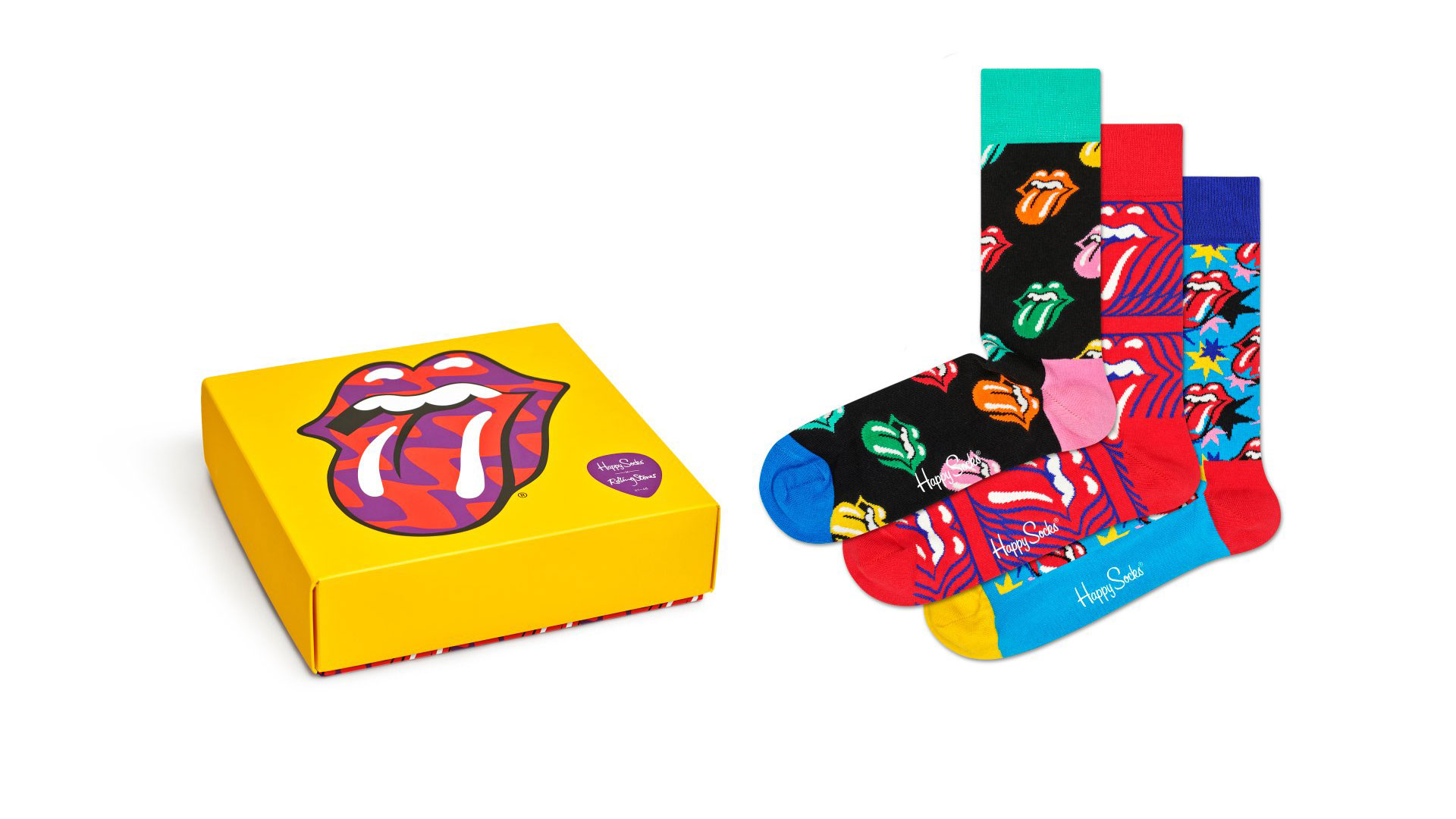 Happy Socks x The Rolling Stones Gift Set