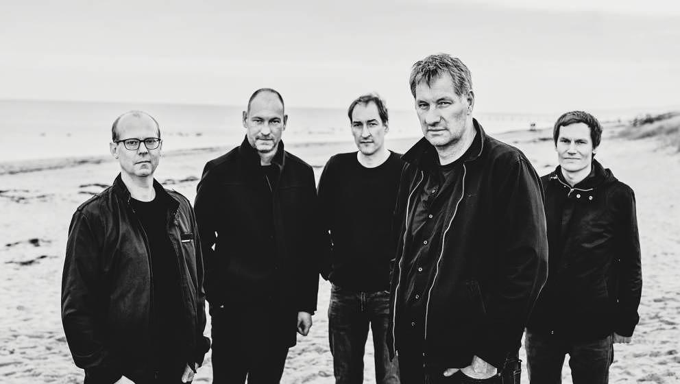 Kettcar 2019: Erik Langer, Lars Wiebusch, Reimer Bustorff, Marcus Wiebusch, Christian Hake