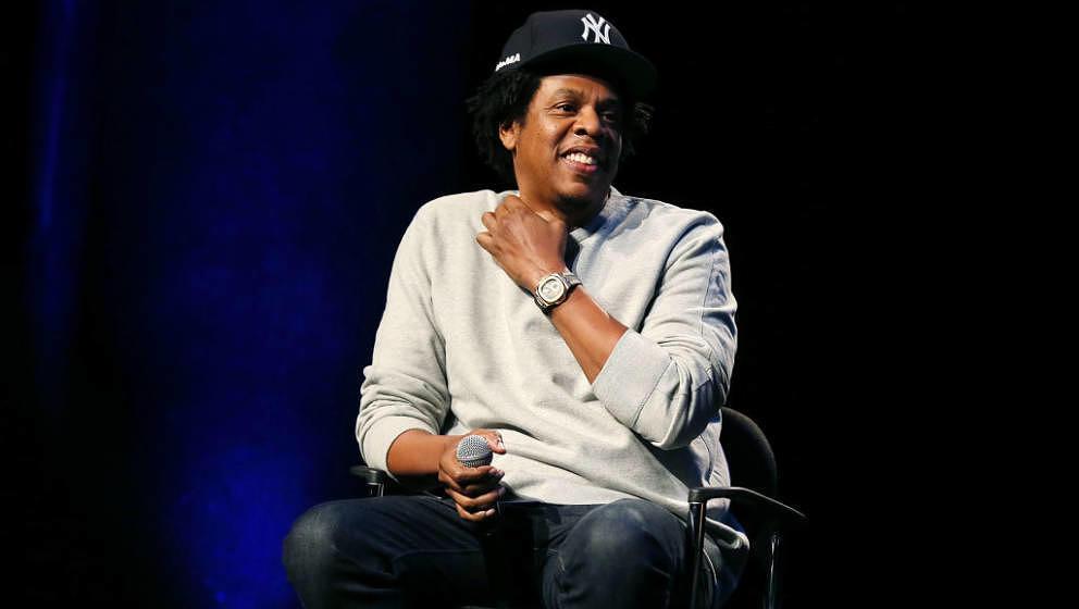 Jay-Z bei der Criminal Justice Reform Organization im Januar 2019