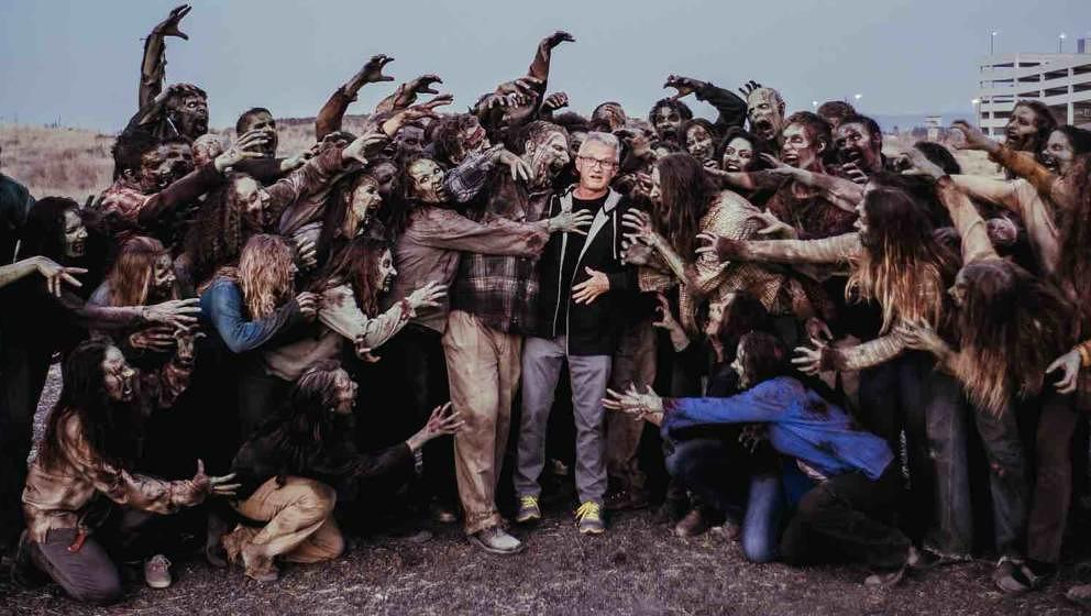 """Z Nation""-Showrunner Karl Schaefer und seine Liebsten"