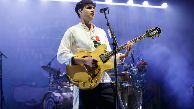 Ezra Koenig von Vampire Weekend beim End Of The Road Festival 2018.