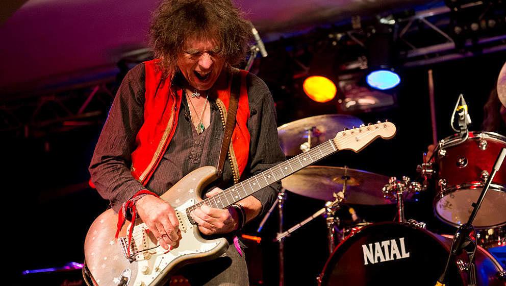 Bernie Tormé beim Hard Rock Hell Festival in Wales 2013.