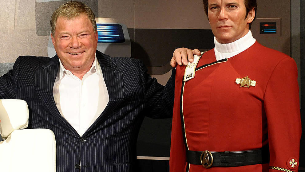 LOS ANGELES - NOVEMBER 04: William Shatner attends the unveiling of a Captain Kirk wax figure at Madame Tussaud's Wax Museum