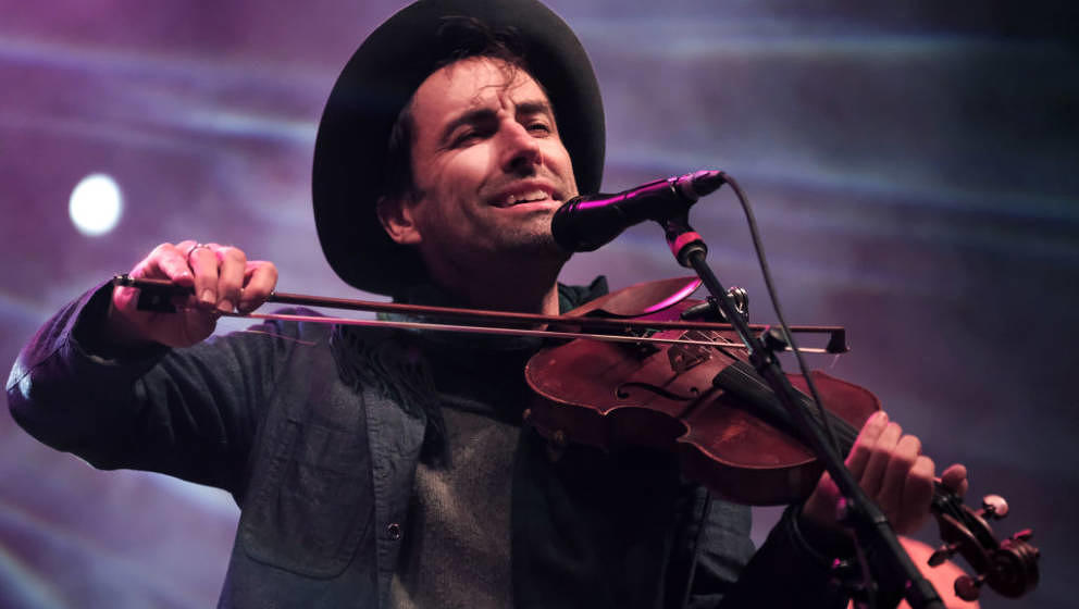 AUSTIN, TX - MARCH 16:  Andrew Bird performs onstage at SXSW Presents during the 2019 SXSW Conference and Festivals at Audito