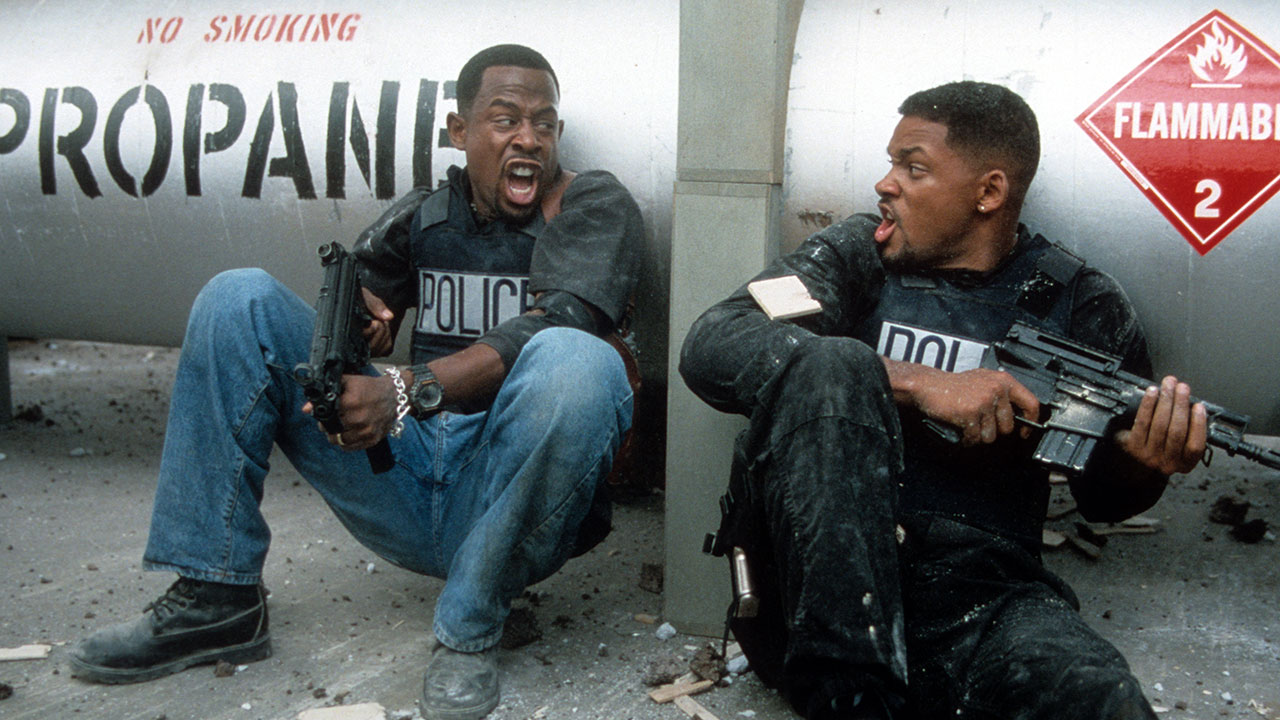 "Martin Lawrence und Will Smith in ""Bad Boys"""