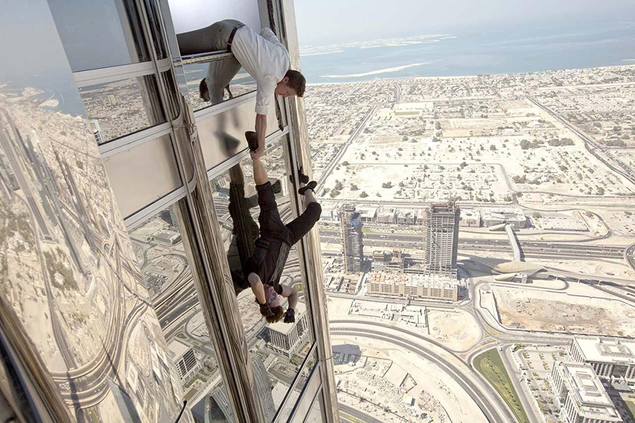 Hat definitiv keine Höhenangst: Ethan Hunt