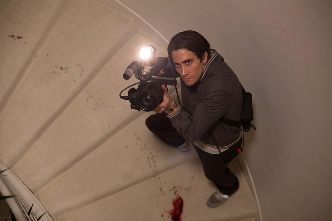 """Immer auf der Suche nach sensationellen Bildern: Jake Gyllenhaal in """"Nightcrawler"""""""