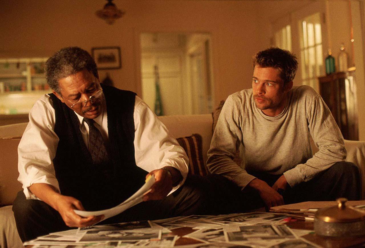 Morgan Freeman und Brad Pitt wollen einen Serienmörder fangen