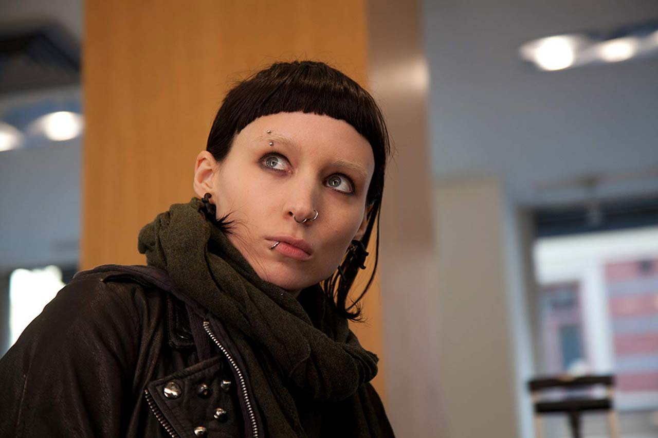 "Rooney Mara in ""The Girl With The Dragon Tattoo"""