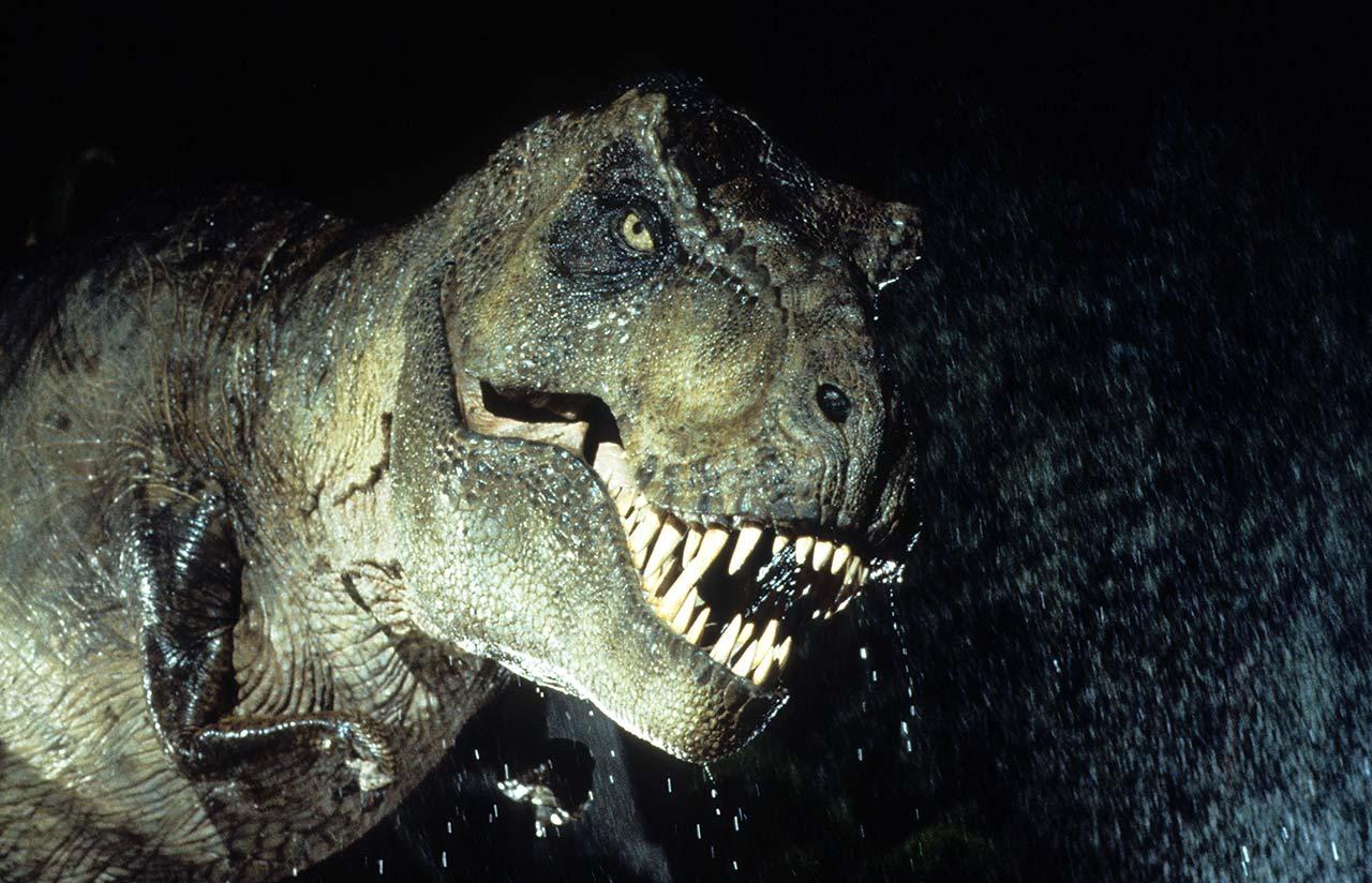 """Der T-Rex ist das Highlight von """"Jurassic Park"""""""