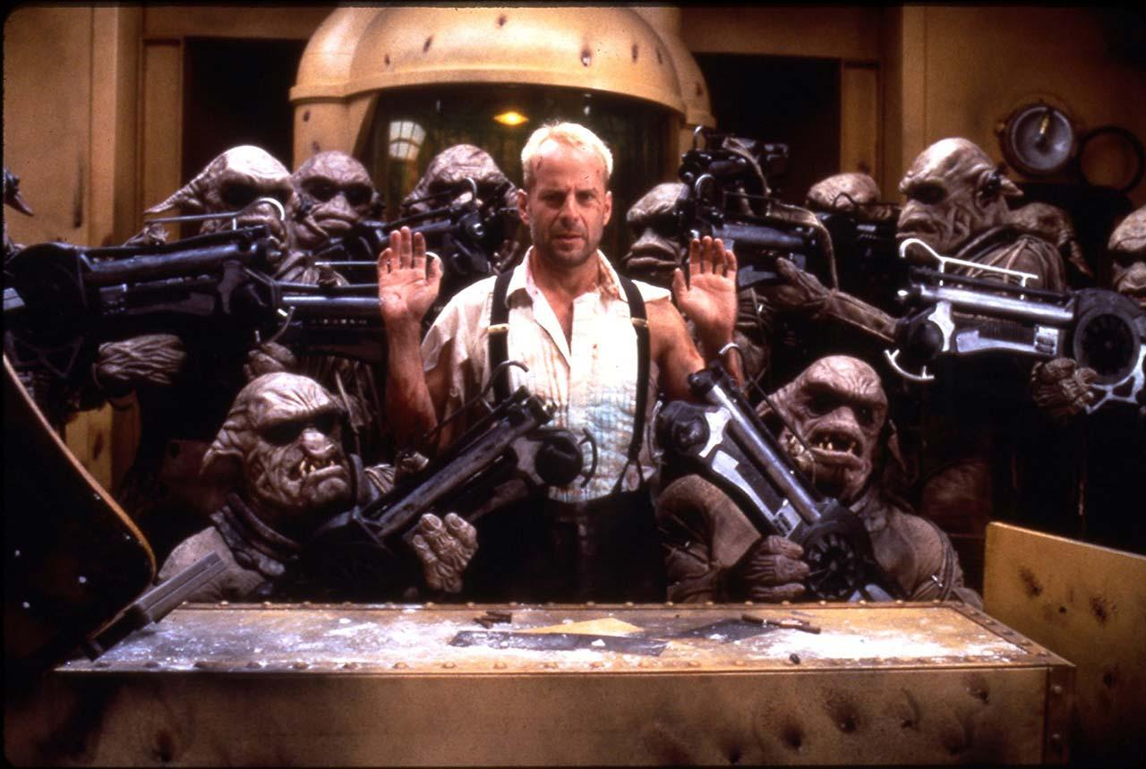 Held wider Willen: Korben Dallas (Bruce Willis)